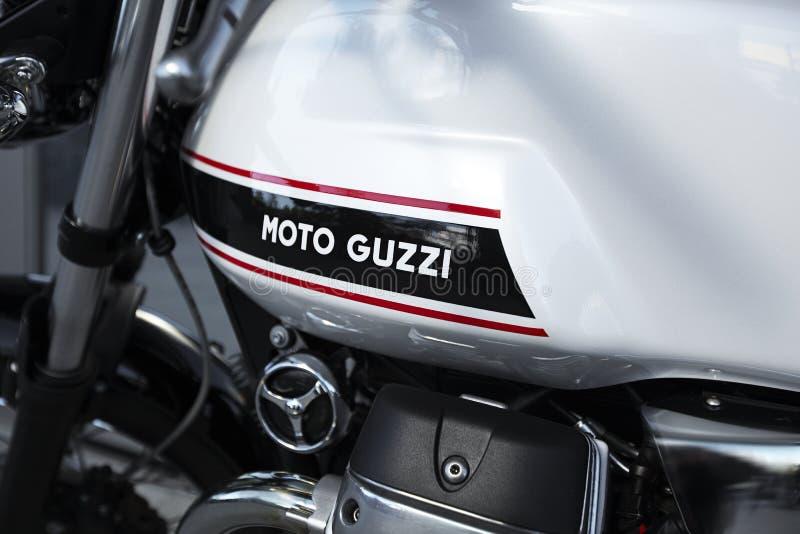 moto guzzi στοκ φωτογραφία με δικαίωμα ελεύθερης χρήσης