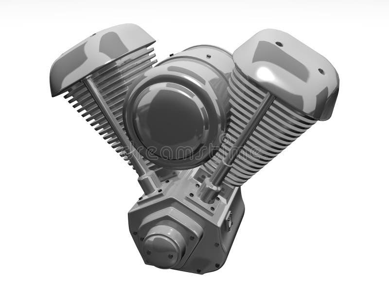 Moto-Maschine stock abbildung
