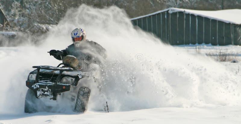 moto-quad imagem de stock royalty free