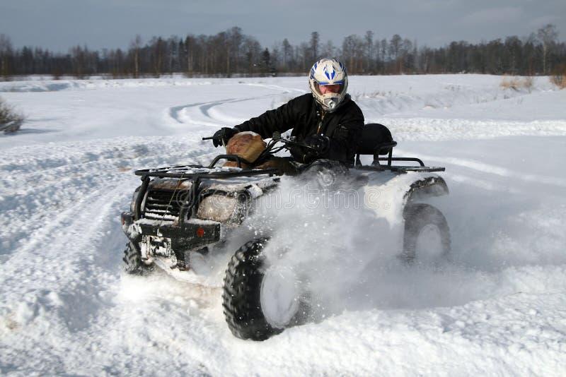 moto-quad imagem de stock
