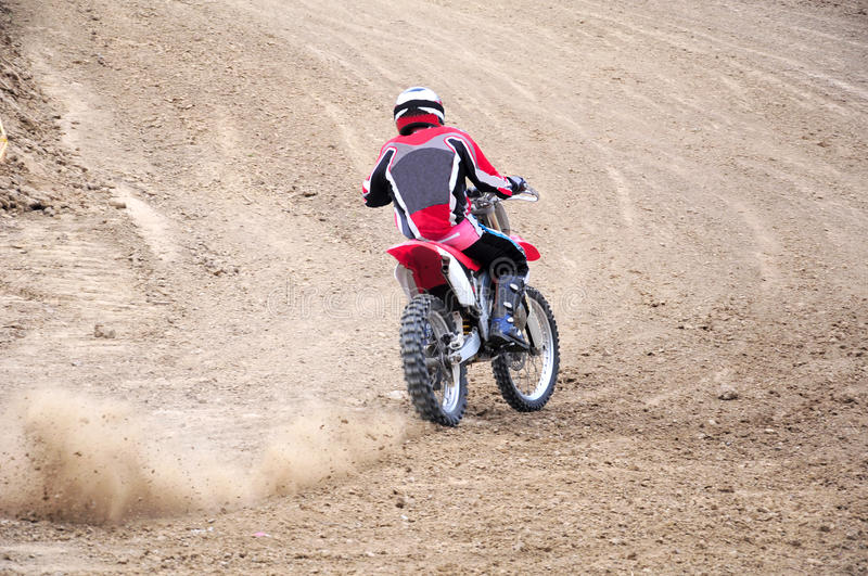 Moto racing stock images