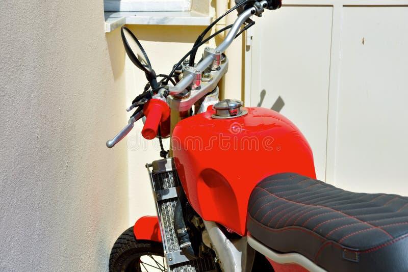 Moto roja foto de archivo libre de regalías