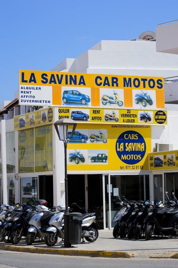 moto samochodowy czynsz zdjęcia royalty free