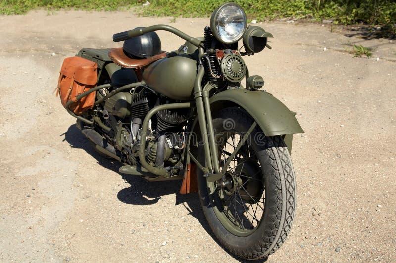 Moto vieja foto de archivo