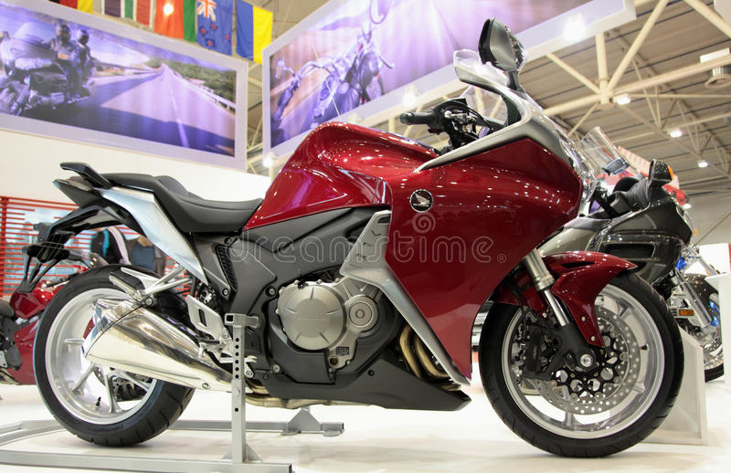 Download Motobike Honda VFR editorial stock photo. Image of risk - 19207308