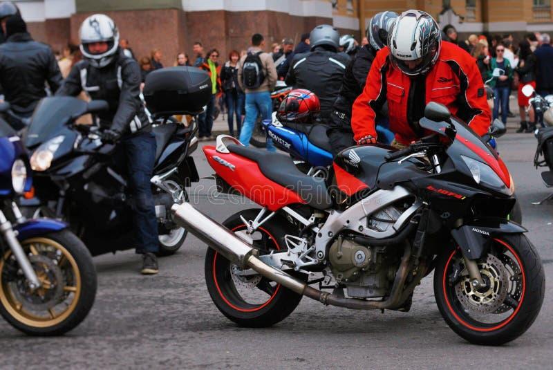 Motobikers zdjęcia royalty free