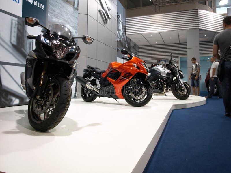 Motobikes del Suzuki immagine stock libera da diritti