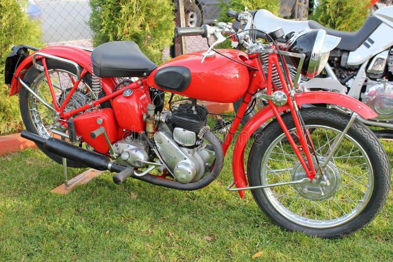 Motocicleta antiga imagem de stock royalty free