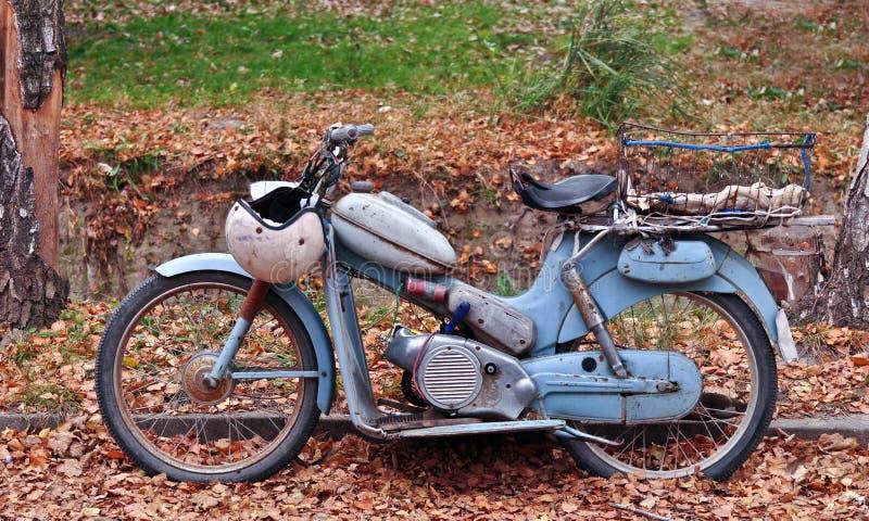 Motocicleta clásica foto de archivo