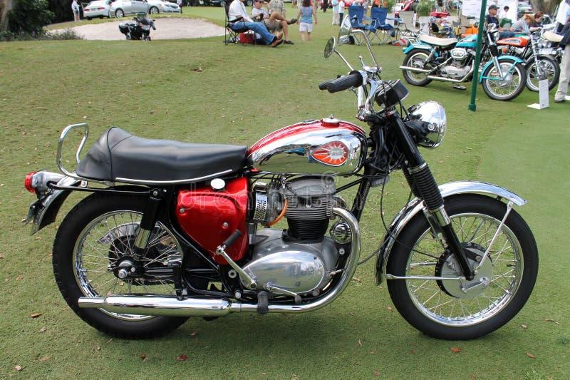 Motocicleta clásica de británicos Vincent fotos de archivo libres de regalías