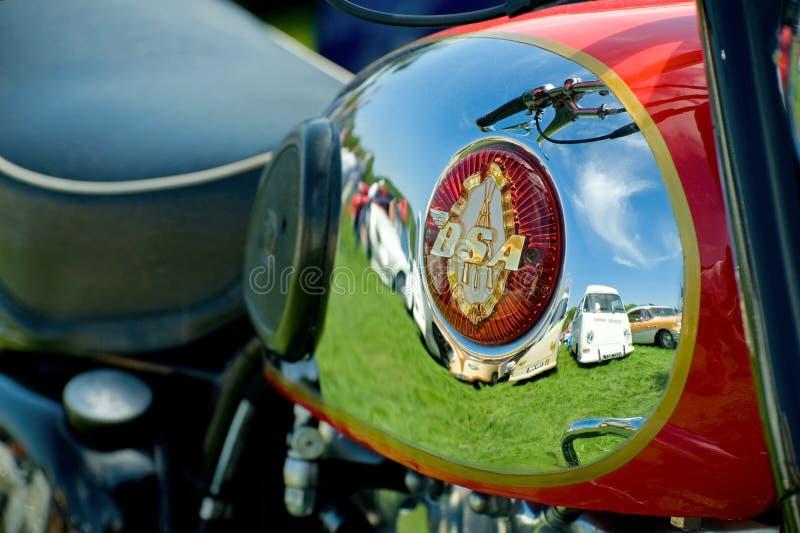 Motocicleta de BSA fotos de archivo