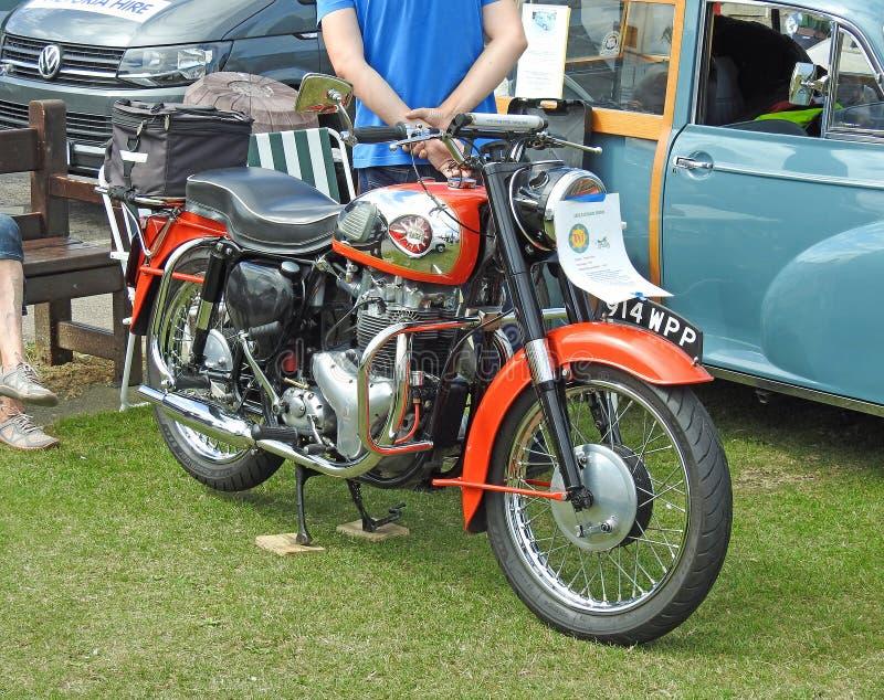 Motocicleta de BSA fotos de archivo libres de regalías