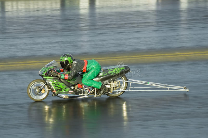 Motocicleta de Dragster imagem de stock royalty free