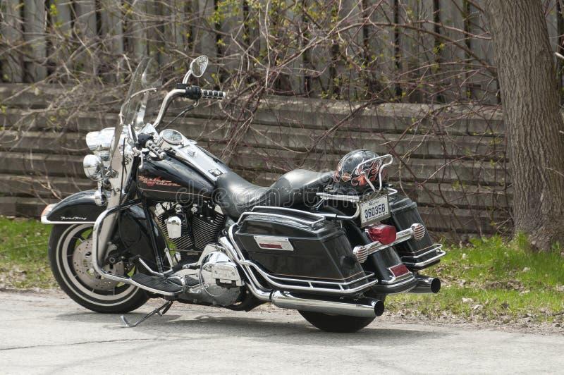 Motocicleta de Harley-Davidson fotografía de archivo libre de regalías