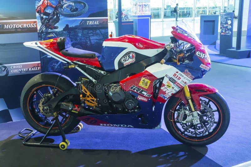 Motocicleta de Honda CBR fotos de archivo