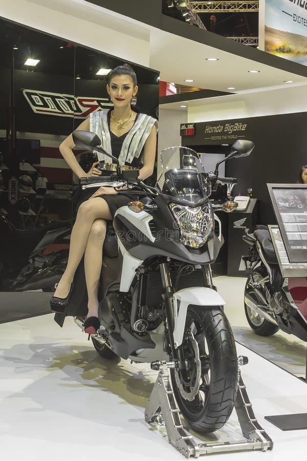 Motocicleta de Honda NC750 imagen de archivo