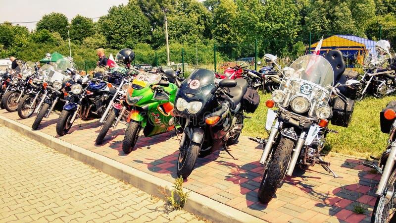 Motocicleta de las motocicletas foto de archivo libre de regalías