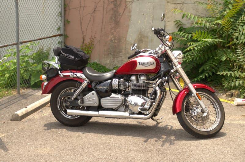 Motocicleta de Triumph fotografía de archivo libre de regalías
