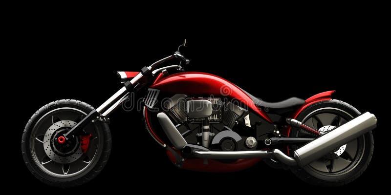Motocicleta del concepto aislada