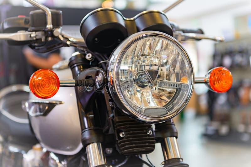 Motocicleta del vintage fotografía de archivo