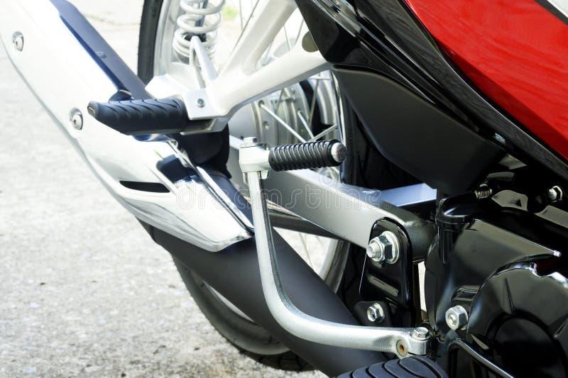 Motocicleta do pedal de arranque imagens de stock