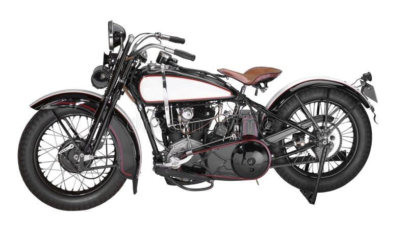 Motocicleta do vintage foto de stock