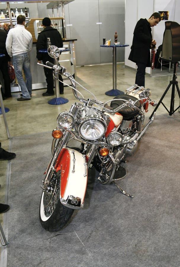 Motocicleta Harley-Davidson FLH 1340 imagens de stock