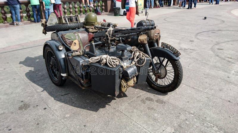 Motocicleta militar alemão fotografia de stock