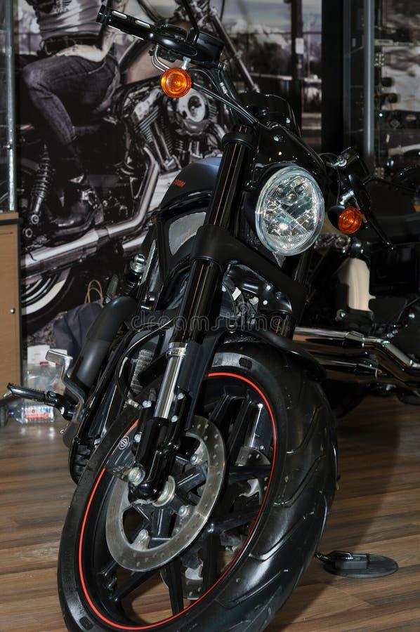 Motocicleta na exposição imagens de stock royalty free