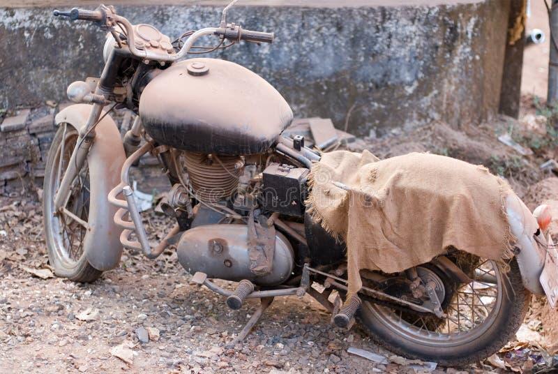 Motocicleta vieja fotografía de archivo
