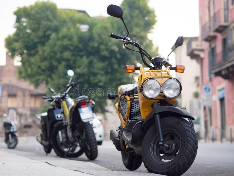 motocicletas imagen de archivo libre de regalías