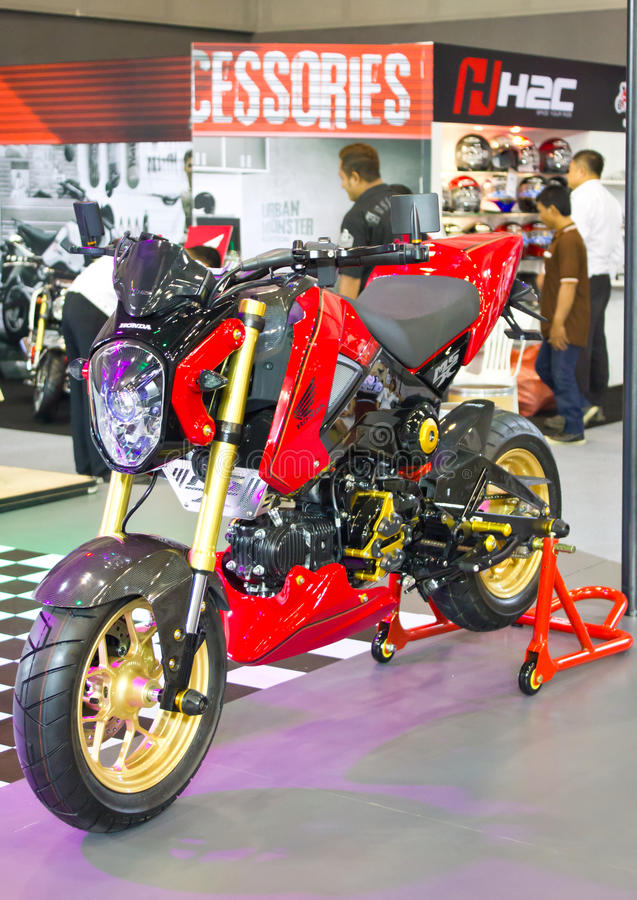 Motocicletas de Honda en la exhibición. fotos de archivo libres de regalías