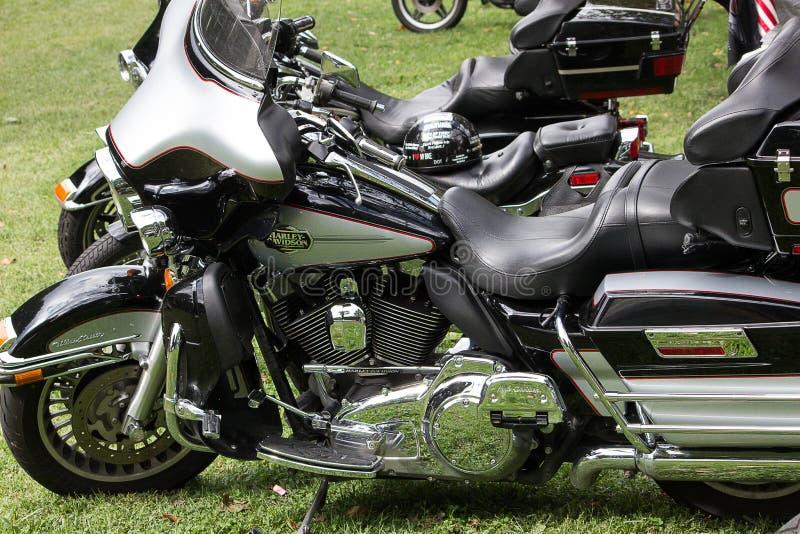 Motocicletas de la obra clásica y del vintage fotos de archivo