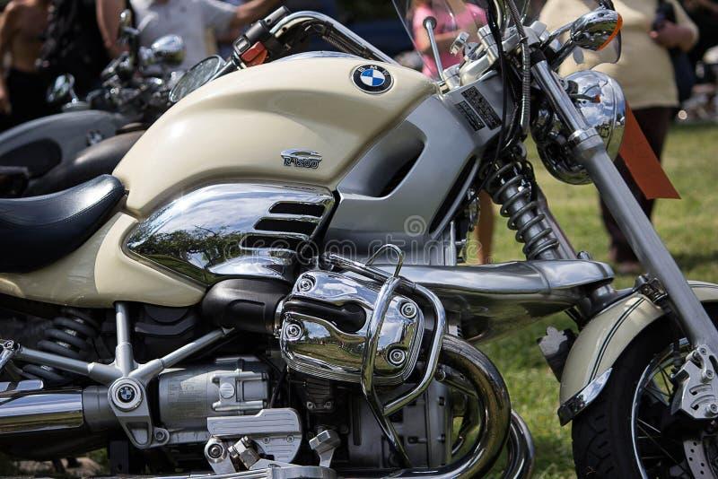 Motocicletas de la obra clásica y del vintage imagen de archivo