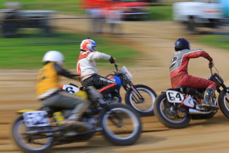 Motocicletas rápidas foto de archivo libre de regalías
