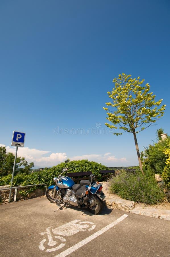 Motocicletta fotografie stock