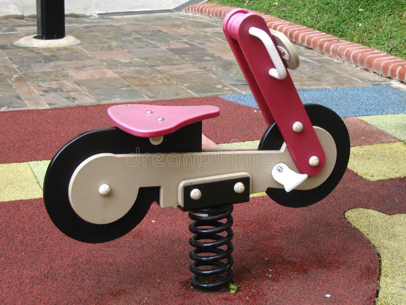 Motocicletta d'oscillazione immagine stock libera da diritti