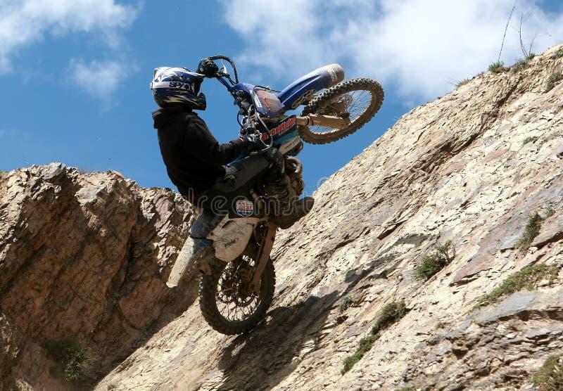 Motocicletta estrema immagine stock libera da diritti