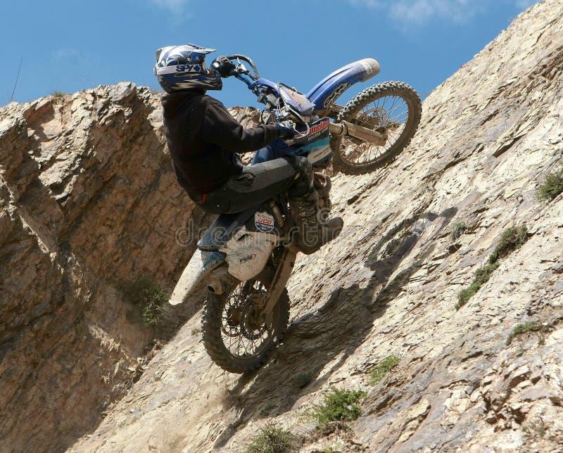 Motocicletta estrema fotografie stock libere da diritti