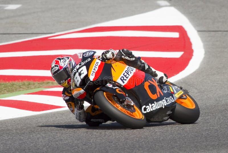 Motociclismo - Marc Marquez immagine stock libera da diritti