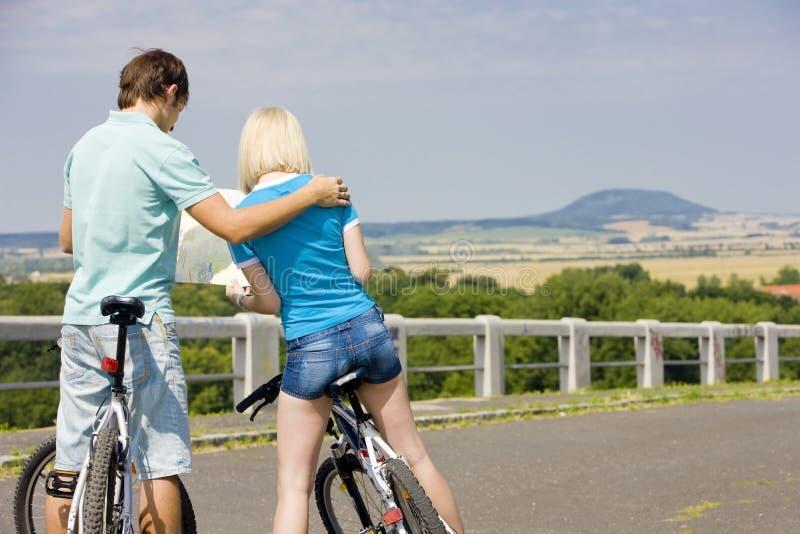 Motociclisti immagine stock