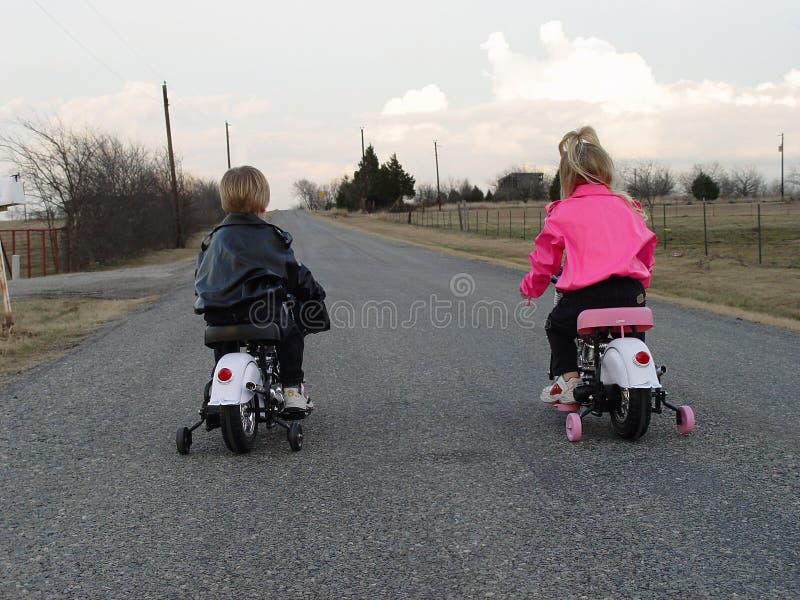 Motociclisti immagini stock