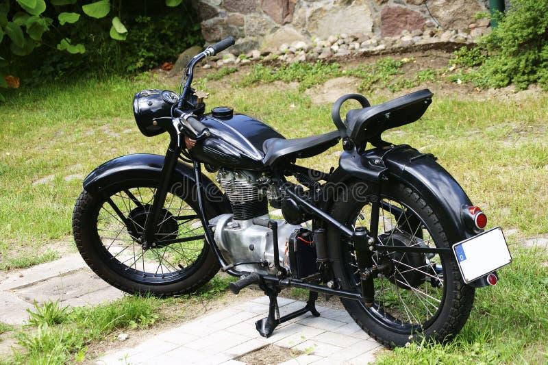 Motociclo antico immagini stock