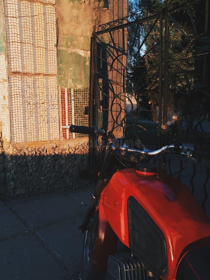 Motociclo d'annata immagine stock libera da diritti
