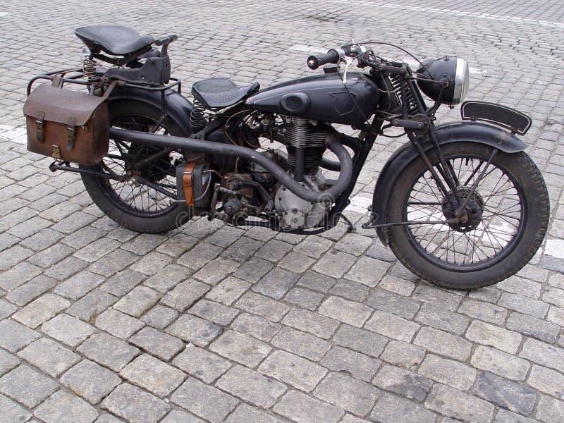 Motociclo dell'annata fotografia stock