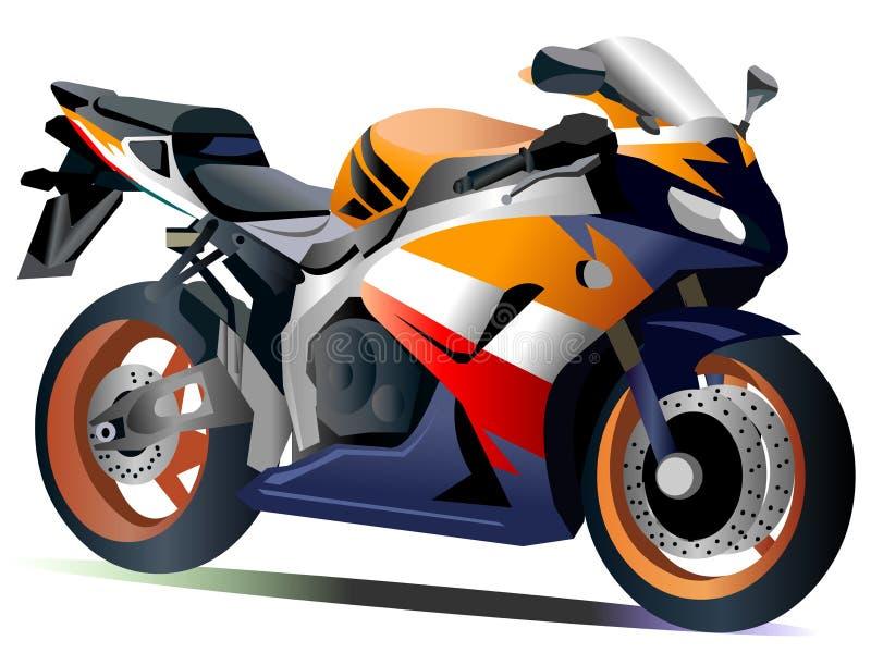Motociclo 1100 di Honda CBR fotografie stock libere da diritti