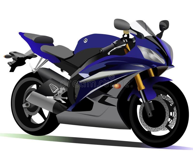 Motociclo di Yamaha R6 fotografia stock libera da diritti