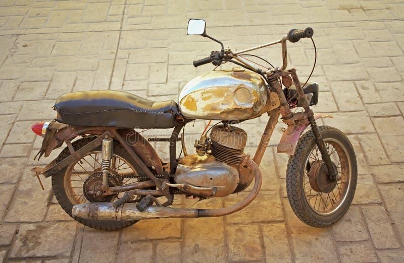 Motociclo giallo immagini stock libere da diritti