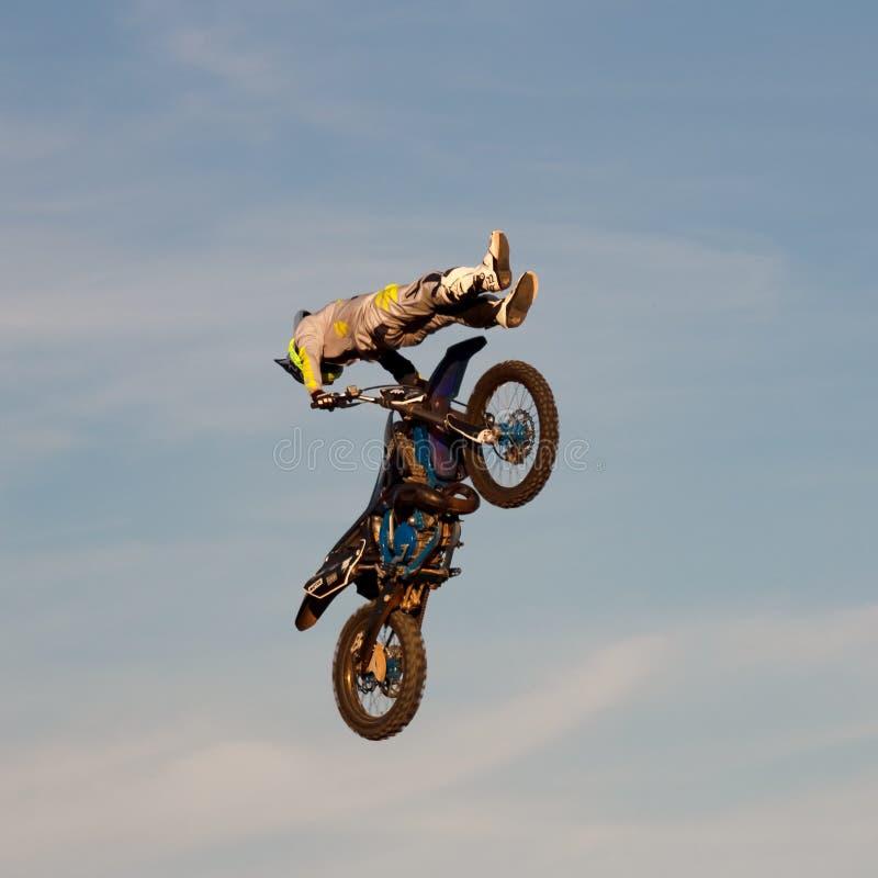 Motocross фристайла стоковое фото