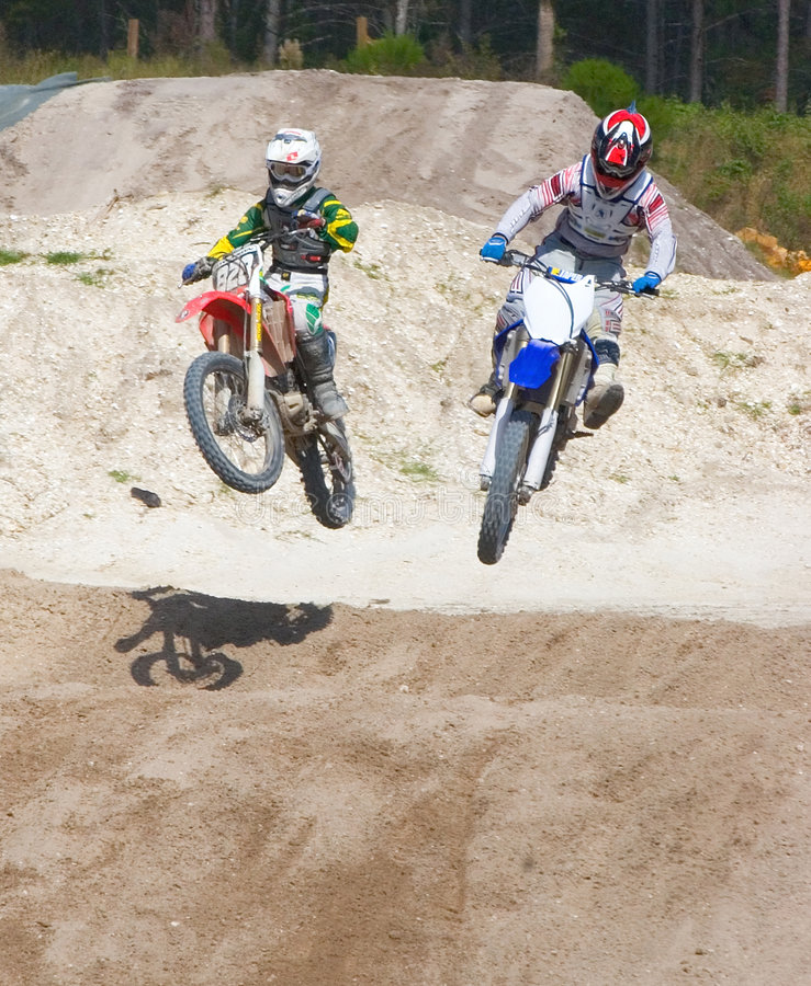 Motocross 10 stock photos